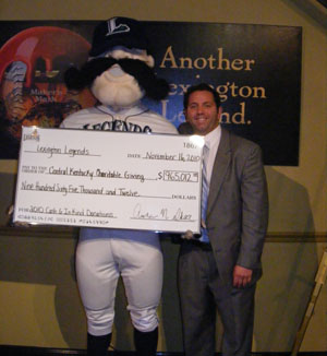Legends announce donations of $965,012 for 2010