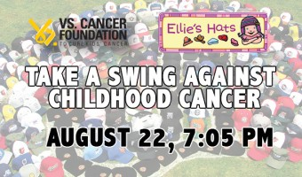Generals Take On Childhood Cancer on Friday, August 22