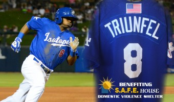 "Isotopes Auction Off ""Dodger Blue"" Jerseys"