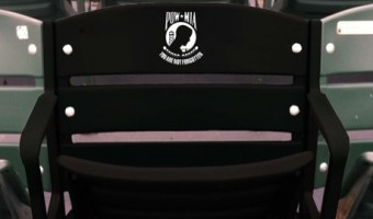 BayBears Honor Military with POW/MIA Seat
