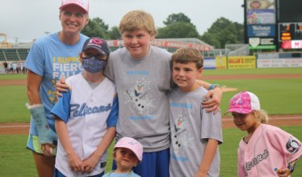 Weekend Proves Successful for Charities at Pelicans Ballpark