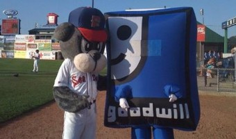 Sea Dogs Partner with Goodwill for Donation Drive