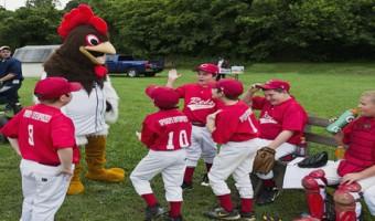 Little Leaguers benefit from visits of P-Rays Little League Caravan