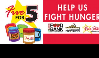 Missions & Five Star Cleaners Help Stop Hunger