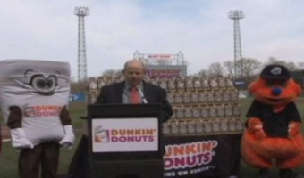 Food Bank to benefit from Chiefs' partnership with Dunkin' Donuts