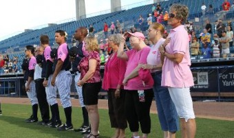 Tampa Yankees Raise Money For Breast Cancer Awareness