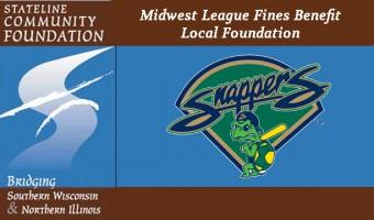 Midwest League Fines Benefit Stateline Community Foundation