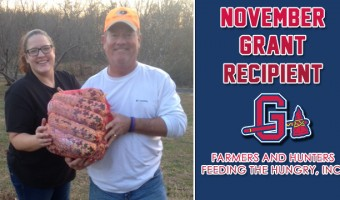 G-Braves Award November Grant to Farmers and Hunters Feeding the Hungry