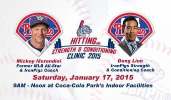 One Day High School Baseball Clinic Announced