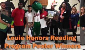 Baysox Honor Reading Program Poster Winners