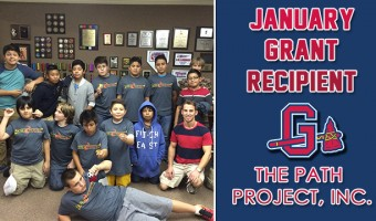 Gwinnett Braves Award January Grant to The Path Project