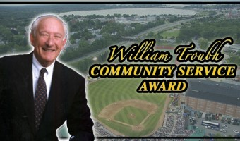 Sea Dogs Now Accepting Nominations for William Troubh Community Service Award