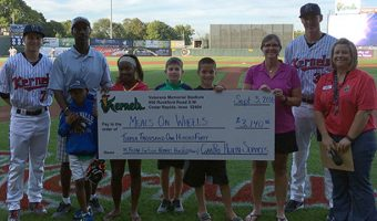 Kernels Take the Lead charities raise over $36,000 in 2016