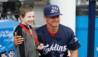 Fightins Donate $3,073 to Local Schools