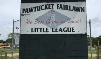 PawSox to Refurbish Fairlawn Little League's Deluca Field at Nathanael Greene Elementary