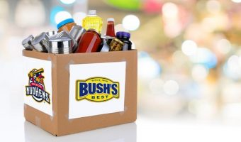 Strike out hunger with a Food Drive, July 27