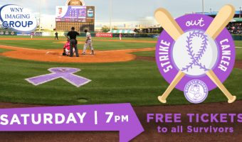 Saturday's 'Strike Out Cancer Night' includes FREE TICKETS to all survivors
