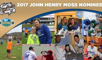 Chasers Nominated for John Henry Moss Community Service Award