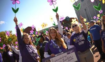 Walk to End Alzheimer's at Fifth Third Field on October 7