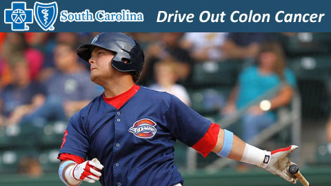 The Drive will wear blue jerseys and wrist bands during the game.