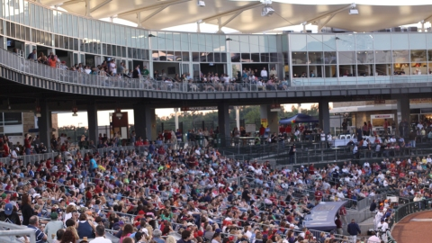 Seat your group all together and raise money at a Naturals game.