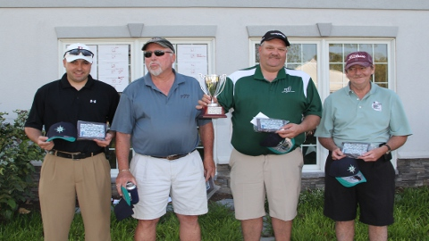 SCLC Tournament Winners(L-R): Matt Williams, Butch White, Kenny Myers, and John Hawley. (Bryan Pruitt)