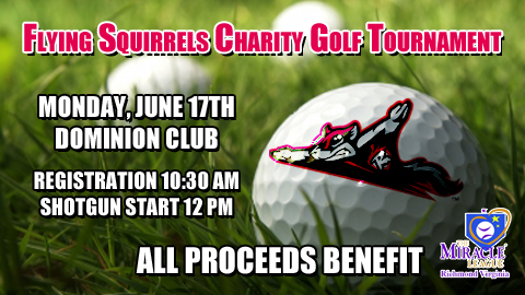 First Charity Golf Tournament hosted by the Dominion Club.