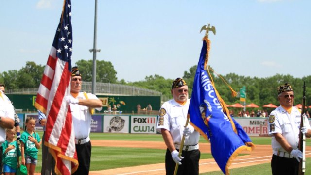 The Timber Rattlers and American National Bank present a Military Appreciation Series from July 1 through July 3.