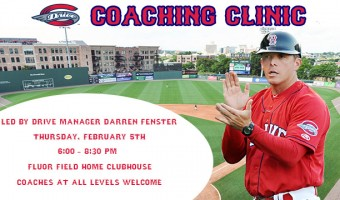 Fluor Field Hosts Complimentary Coaching Clinic on February 5th