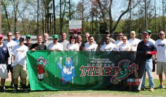 Tides to renovate youth field in the fall