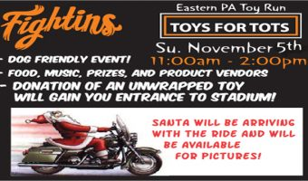 FirstEnergy Stadium to host 11th Annual Eastern PA Toy Run